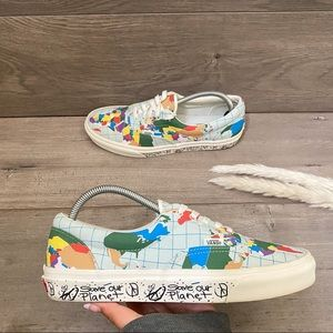 Vans Save Our Planet x Era World Map Sneakers